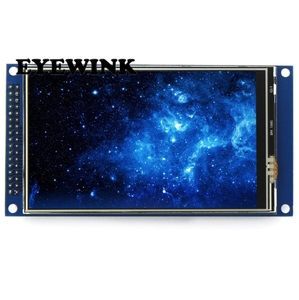 Image 2 -  4 inch TFT LCD screen touch screen module IPS full view Ultra HD 800X480 with base plate