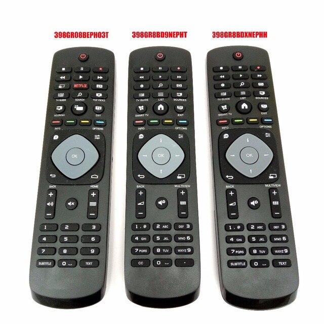 جهاز تحكم عن بعد لتلفاز فيليبس HD LED أصلي جديد 398GR08BEPH03T 398GR8BD9NEPHT 398GR8BDXNEPHH Fernbedienung