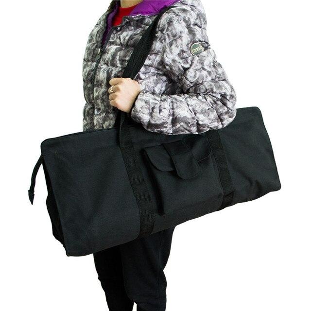 0f8c016c22 Black Yoga Bag For Mat Canvas Yoga Mat Bag Waterproof Fitness Sports Gym  Pilates Dance Large Capacity Yoga Storage Case Backpack