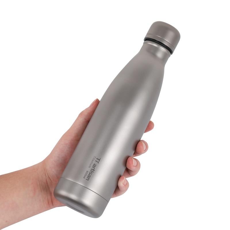 tiartisan titanium ciclismo esporte garrafa de agua 02