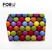 New Arrival Make Up Cosmetic Bag Portable Cute Multifunction Beauty ZipperTravel Cosmetic Bag 3D Print Makeup