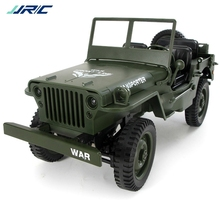 JJRC Children Remote Control Cars Toy Jeep 4WD Four-Wheel Drive Off-Road Militar
