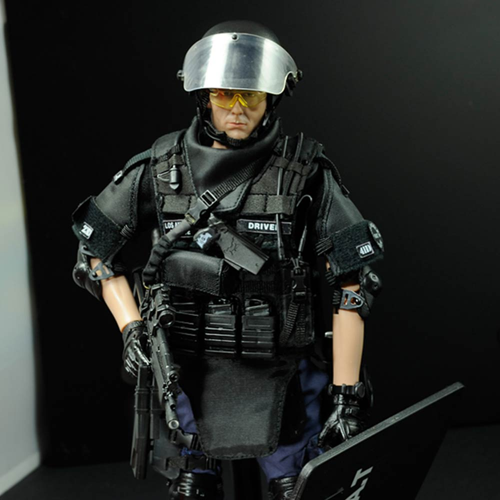 Image 2 - PATTIZ 1/6 Scale Military Solider Figure Toys Set Collectable US Swat Team Model DIY Clothes Doll Action Figure Gun Toy for Boys-in Action & Toy Figures from Toys & Hobbies