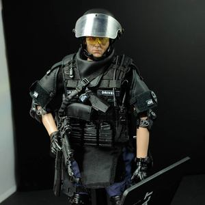 Image 2 - PATTIZ 1/6 Scale Military Solider Figure Toys Set Collectable US Swat Team Model DIY Clothes Doll Action Figure Gun Toy for Boys