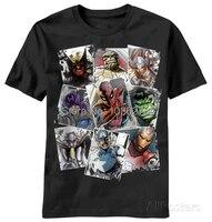 New 2014 Mens Custom T Shirts Marvel Scatter Up Print T Shirt Cotton Fashion Casual Man