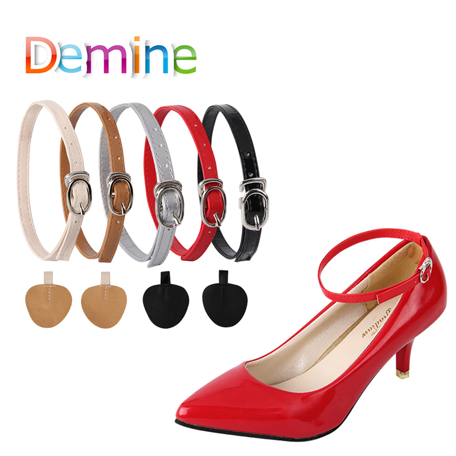 Women Shoelaces For High Heels Adjustable Shoe Belt Ankle Holding Loose Anti-skid Bundle Laces Tie Straps Band Shoes Decoration(China)