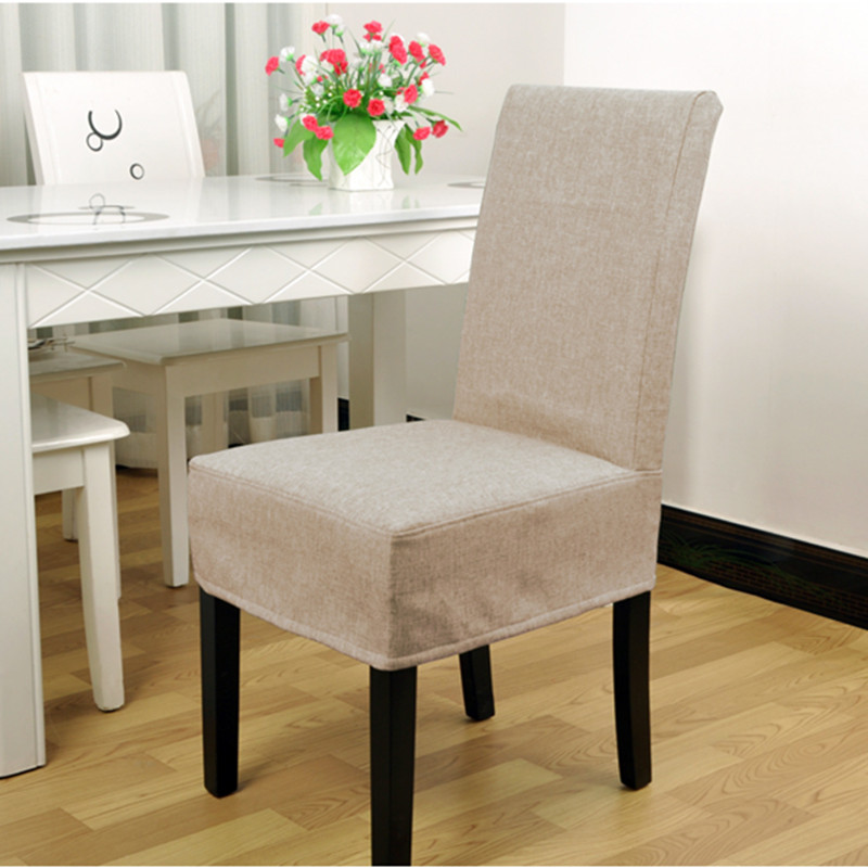 Incredible Us 22 5 Fashion Cotton Chair Cover Office Kitchen Chair Covers Party Wedding Banquet Decor Beige Grey Green Color In Chair Cover From Home Garden Pabps2019 Chair Design Images Pabps2019Com