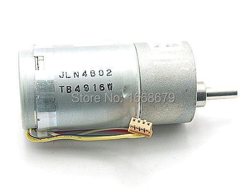 EBOWAN Gear Electric Encoder Motor 37MM 100RPM 12V DC 100mA 37GB Powerful High Torque for RC Car Robot Model DIY Toys цена