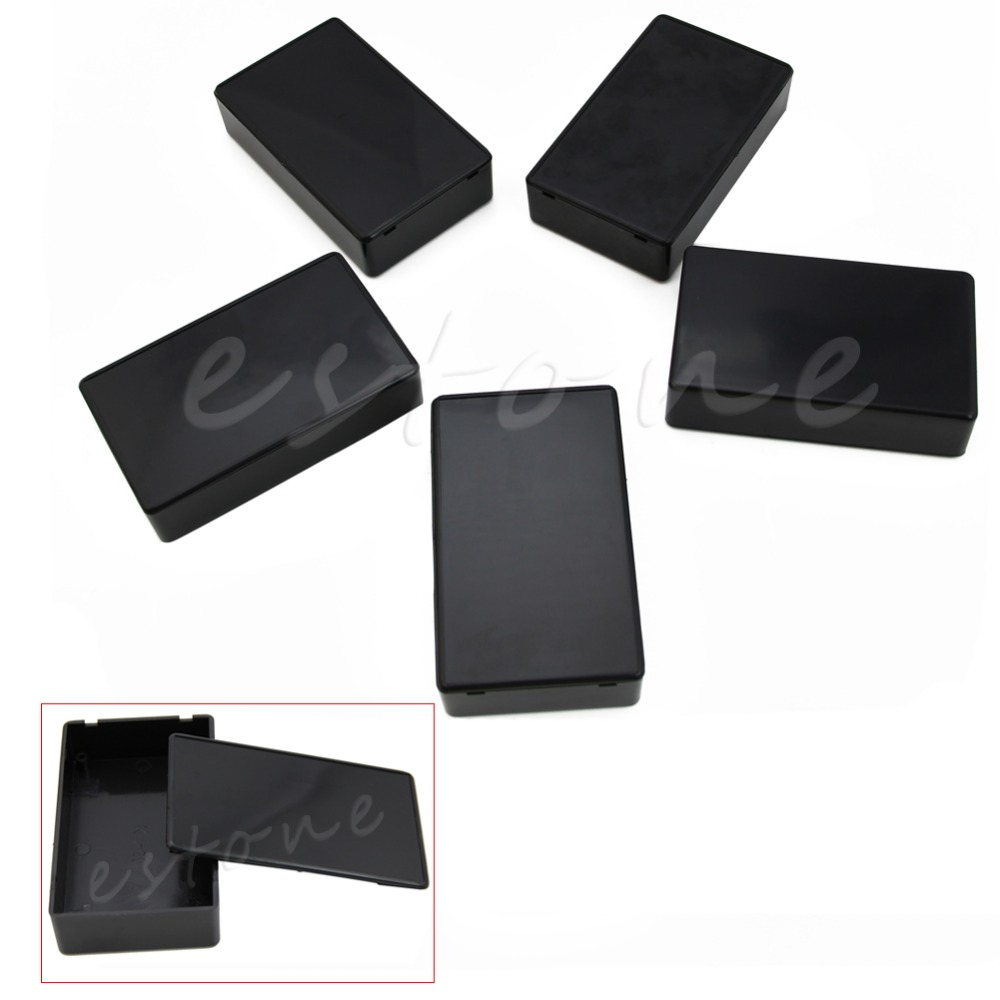 OOTDTY Durable and Practic 5Pcs 100x60x25mm DIY Plastic Electronic Project Box Enclosure Instrument Case for Electronic Projects|case for|cases for electronicscase case - AliExpress