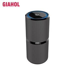 Image 1 - GIAHOL Mini purificateur dair Portable pour voiture, à ions négatifs, USB, purificateur dair, purificateur dair, purificateur dair pour les voitures, le bureau et la maison