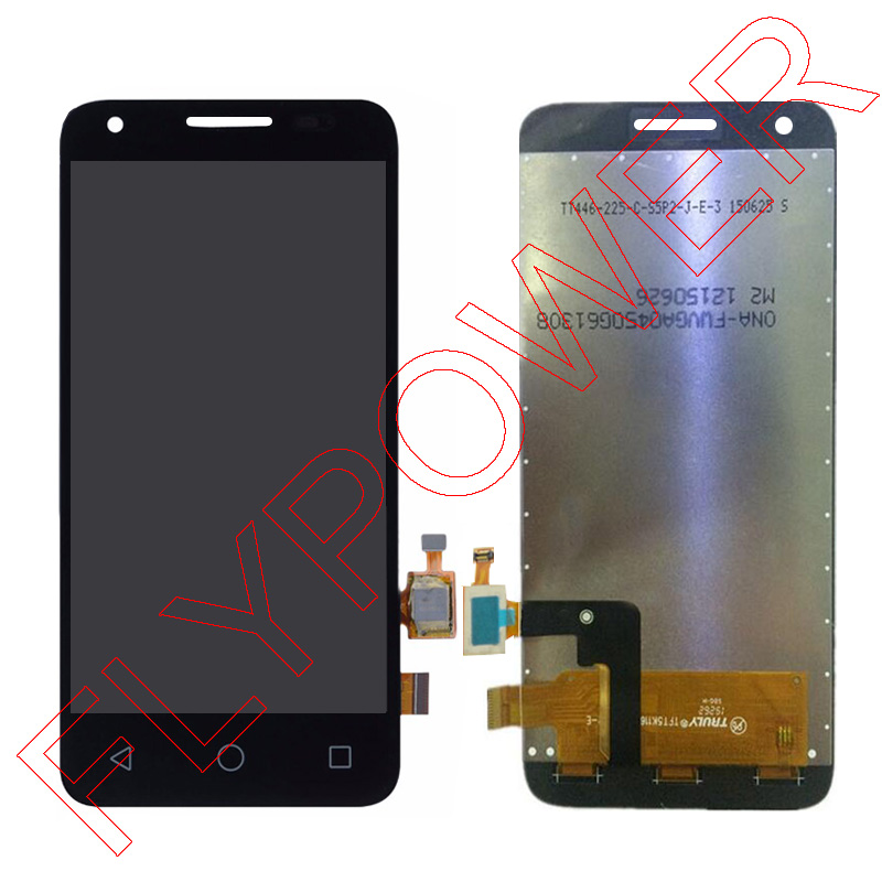 ФОТО 100% Warranty LCD Screen Display With digitizer touch Screen Asssembly For Alcatel One Touch Pixi3 OT4027 D4027A Free Shipping