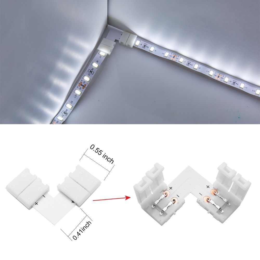5 шт. 2835 3528 5050 5630 SMD Светодиодные ленты света Бесплатная аксессуары для сварки и резки 2pin 4pin 8 мм 10 мм для ws2811 ws2812 RGB полосы ленты
