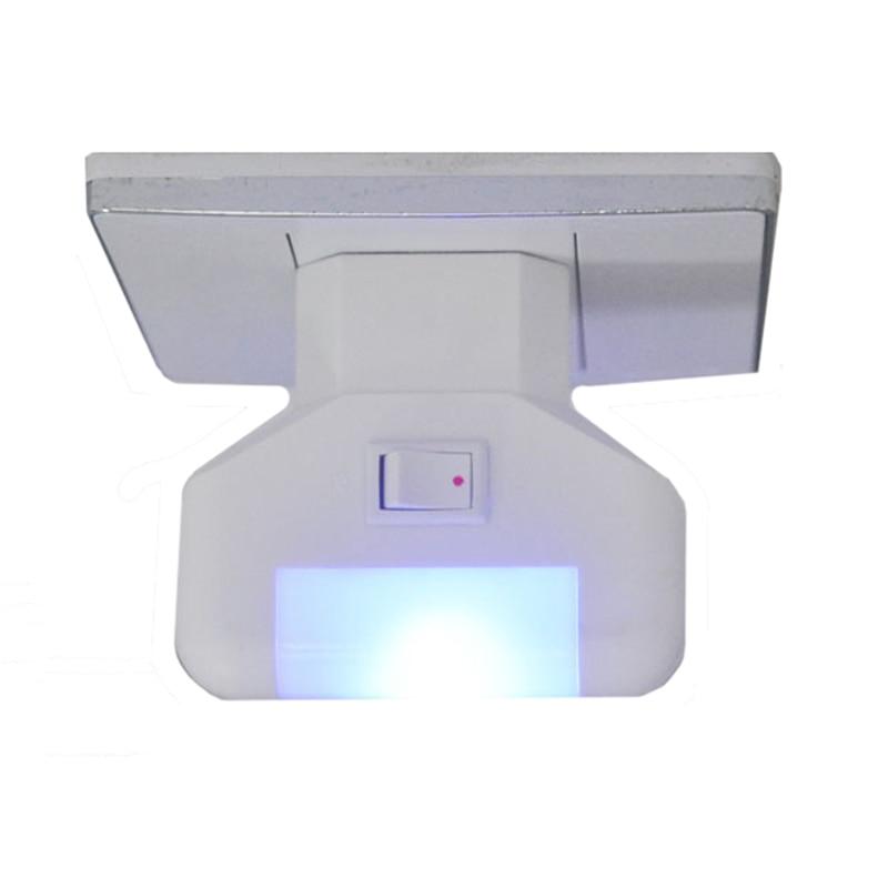 EU Plug AC Wall Socket LED Night Light Wall Plug Bedroom Night lamp Blue Light Nightlight Bed Night-light