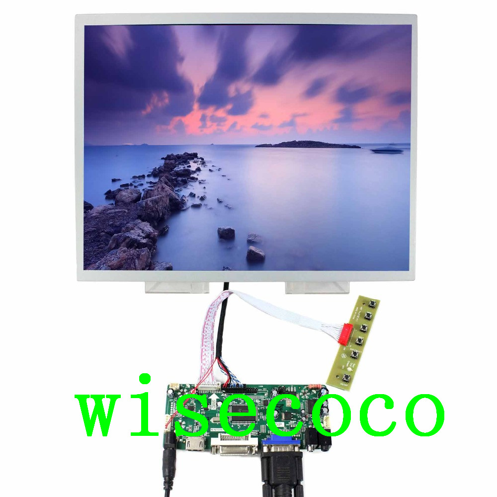 Mobile Phone Parts 15 Inch Lq150x1lw94 1024x768 Ips Lcd Screen Captive Touch Panel With Hdmi Dvi Vga Audio Lcd Controller Board Convenience Goods