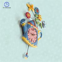 Silent Wall Clock Modern Design Kitchen Clocks Vintage Decorative Large Wall Watches Metal Home Decoration Accessories