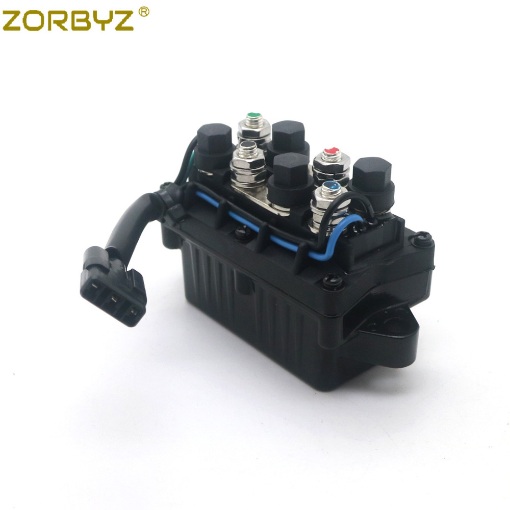 ZORBYZ New ATV Winch Solenoid Assembly For Arctic Cat 0409 066