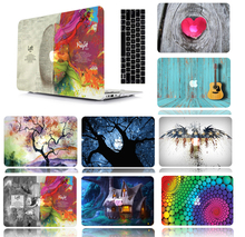 Print Pattern Protective Hard Shell Case Keyboard Cover Skin Set For Fit 11 12 13 15″ Apple Macbook Air Pro Retina Touch Bar DC