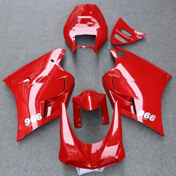ABS Fairing Bodywork Panel Kit Set Fit for Ducati 748 916 996 998 2003-2004 Motorcycle