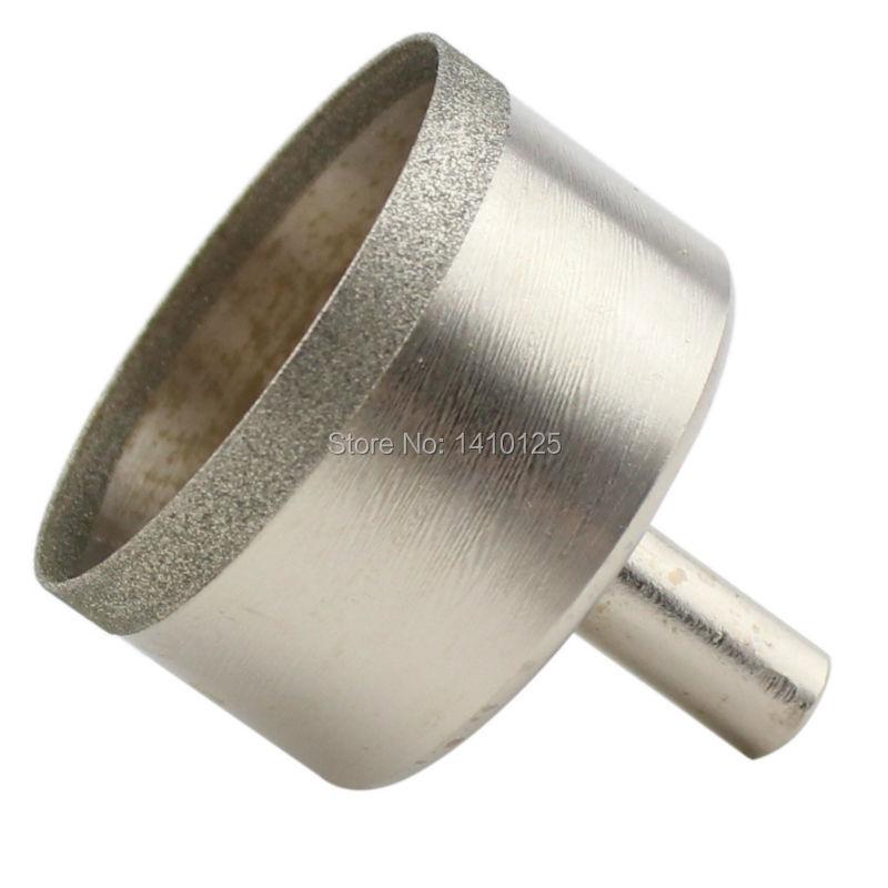 30–60 mm-es szuper vékony gyémánt lyukfűrész bevonatú fúrófej 0,6 mm-es peremfűző ékszer szerszámok Kőfúrás drágakő üveghez