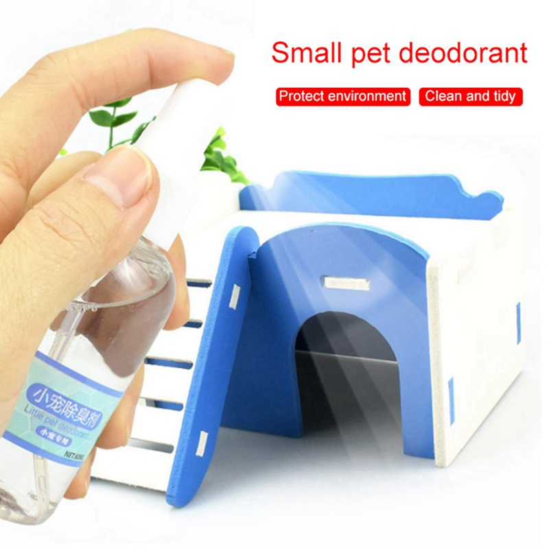 50 ML Small Pets Spray Deodorant Perfume Container Refillable Atomizer For Dogs Cats, Safe For Pets, Removing Odor Freshing Air
