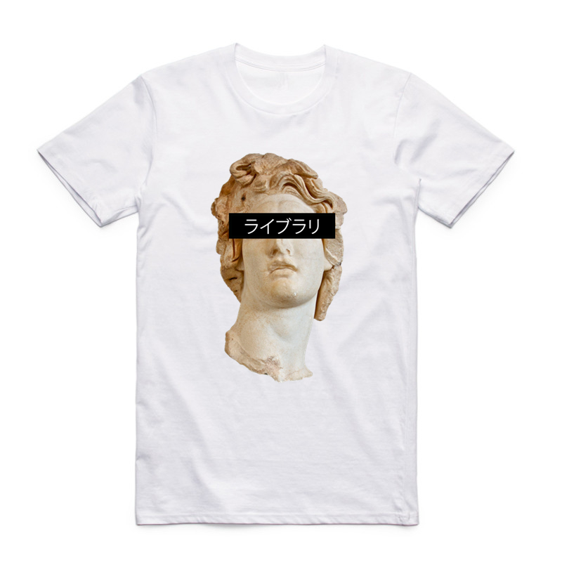 S-XXX Uomini Donne Vaporwave Impressionante T-Shirt manica Corta O-Collo Harajuku Fashion Tshirt Streetwear Refurtiva