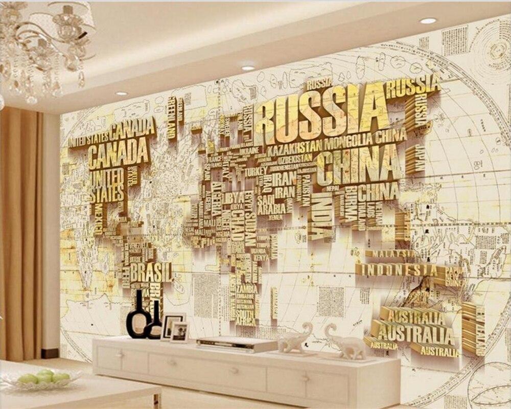 Beibehang papel de parede 3D Photo ...