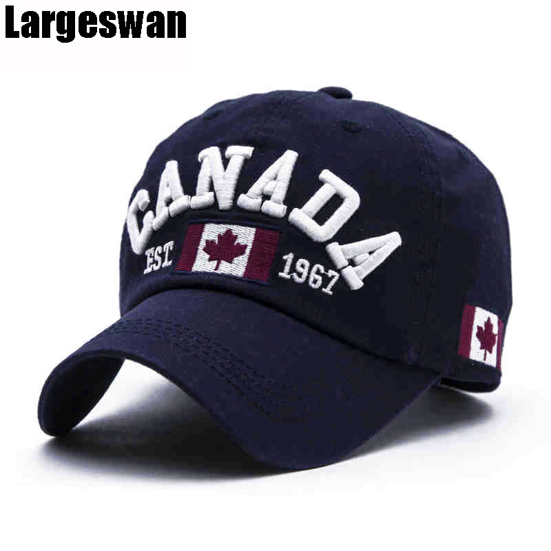 Largeswan Summer Letter Embroidery Flag Baseball Cap Men Hat Peaked Snapback Women Black Fashion Cap Casquette Brand Unisex xthree fashion baseball cap summer snapback hat letter embroidery casquette hat for men women cap wholesale