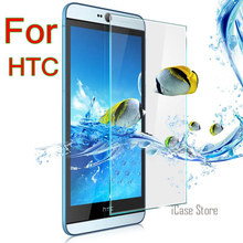 Popular 9 h vidrio templado para HTC Desire 510 516 526 610 616 816 820 826 E8 E9 ojo M7 teléfono protector vidrio a prueba de explosiones