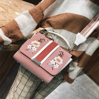 Autumn Winter New Arrival Embroidery Korea Style Handbags Fashion Casual Lady Elegance Shopping Office Worker College