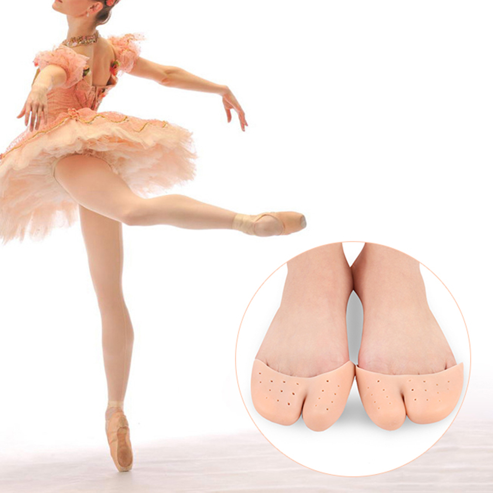 Silicone Gel Pointe Shoe Pads Cushions Toe Cap Cover Protector
