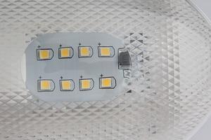 Image 2 - 16LED מתקן לבן תקרת מנורת 12 V סירת Camper קרוואן ימי יאכטה כיפת אור רכב פנים מנורה