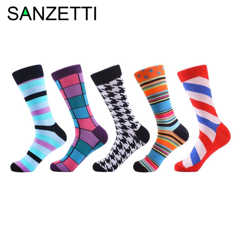Sanzetti 5 زوج / وحدة الرجال الجدة مضحك - ملابس رجالية