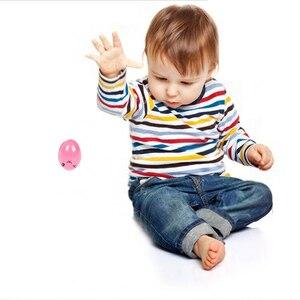 Image 3 - 9 Kleuren/Set Veiligheid Niet Giftig Wax Creatieve Kinderen Kwast Kleurpotloden Effen Eivorm Geschenken Baby Speelgoed tekening Pigment Art Sup