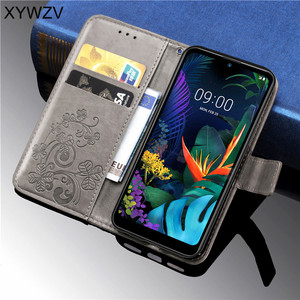 Image 4 - Lg K50 ケースソフトシリコン財投財布高級耐衝撃電話ホルダー Fundas Lg K50 バック lg K50