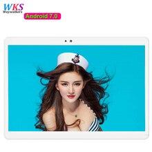 Envío libre de DHL 10.1 pulgadas tablet pc Android 7.0 Octa 8 core 4 GB RAM 64 GB ROM Bluetooth 1920*1200 IPS Niños Regalo MID Tabletas 10