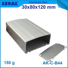 szomk electrical aluminum junction enclosure (4pcs) power switch box for controller 30x80x120mm