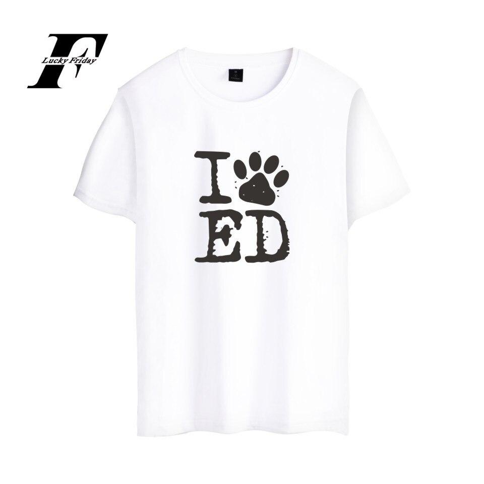 Luckyfridayf Ed Sheeran música camiseta verano manga corta Camisetas Tees camiseta divertida mujer algodón carta impresión moda femenina casual Niñas