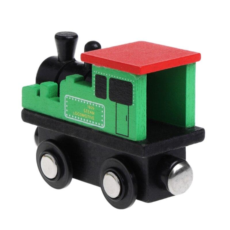 12 шт. деревянные магнитные Танк мини поезда игрушка Детские подарки Настольная игра Забавные Creative