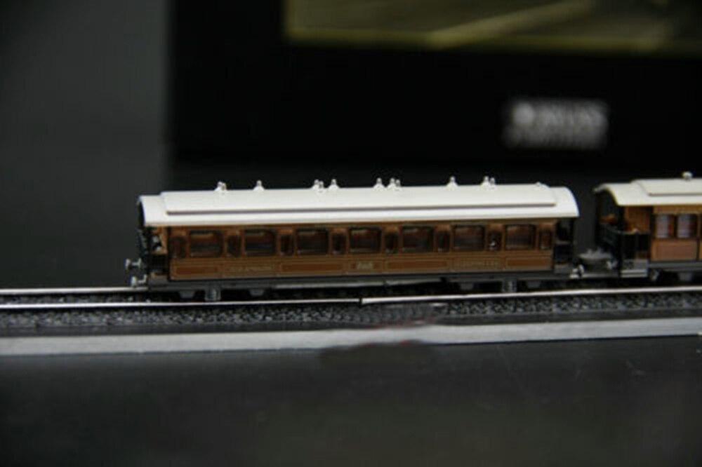 Diecast 1//220 Atlas Minitrain Rail Steam Trains Model Vehicles Collection Toy