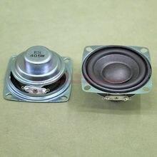 (2 шт./лот) 4 Ом 5 Вт 5 Вт 52 мм квадратный Динамик 22 мм Внутренний Магнитная 16 мм звуковая катушка двойной магнит ПУ края черный