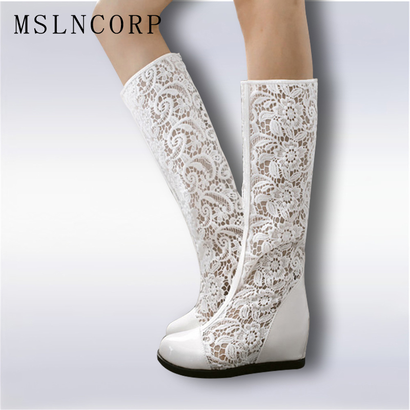 Big Shoes 34 43 Party Womens Roman Sandals knee high women Summer boots sexy fashion sandal