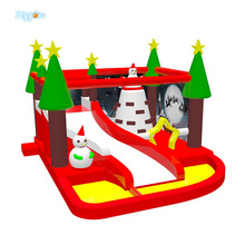 Newest Design Christmas Theme Inflatable Bouncer Trampoline Jumper Castle For Event