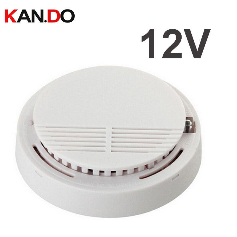 BY 12v Gas Detector Alarm 100db GAS Alarm Smoke Sensor Alarm GAS Alarm GAS Detector FOR Security System