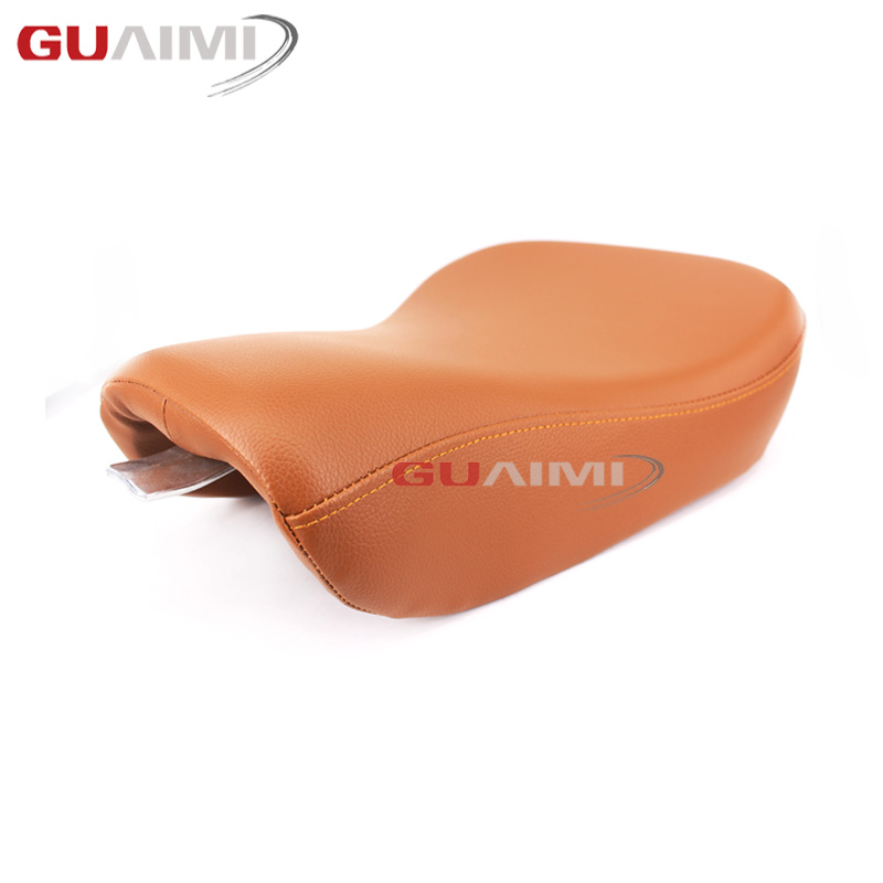 Front Driver Solo Seat Cushion For Harley Davidson Forty Eight XL1200X Iron 883 Seventy Two XL1200V