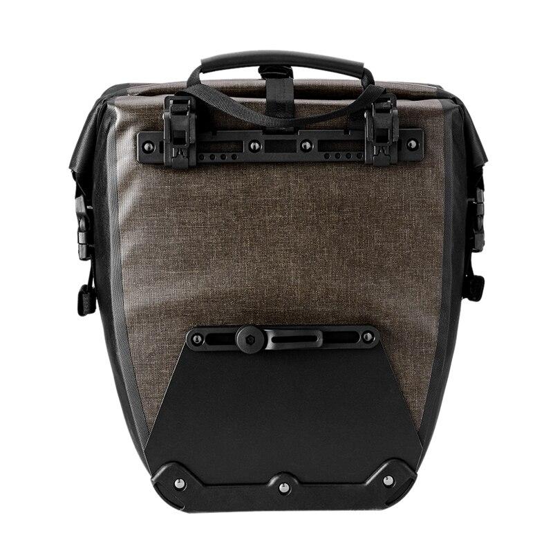 SEWS-sacoche de vélo d'extérieur grande capacité 27L sac de siège arrière de vélo étanche pour vélo de route de montagne