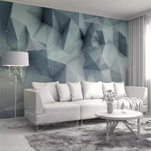 3d wallpaper Nordic minimalistic abstract lines geometric TV background wall professional custom mural photo