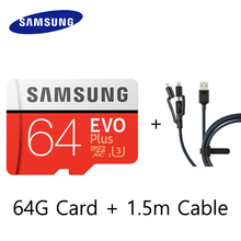 Original SAMSUNG EVO Plus Microsd Cards Memory Card 64G 128GB 64GB 32GB micro sd card 100Mb/s Class10 Micro SD TF Flash Card