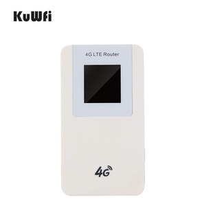 Image 2 - KuWfi Unlocked 4G LTE Wireless Router MiFi  4600mAh Power Bank WIFI Router Portable Wireless Modem With SIM Card Slot