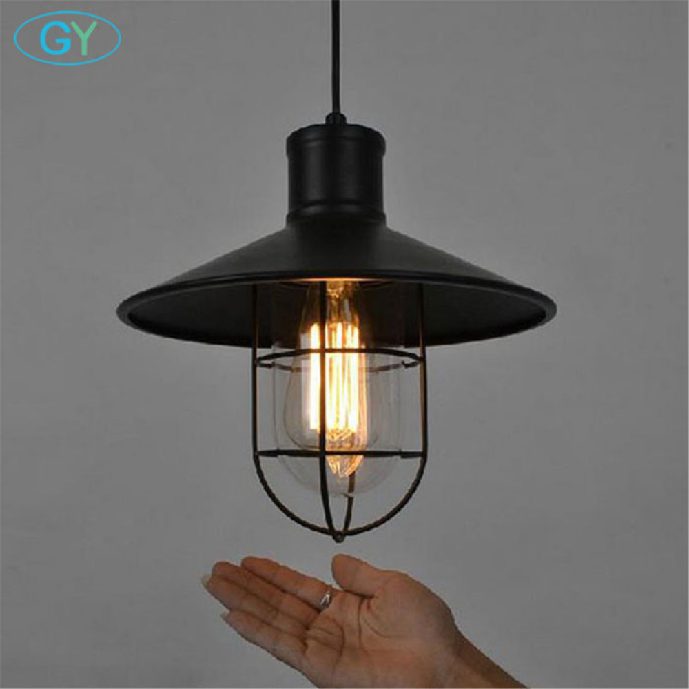 industrial one light adjustable mini pendant light with clear glass metal lampshades black. Black Bedroom Furniture Sets. Home Design Ideas
