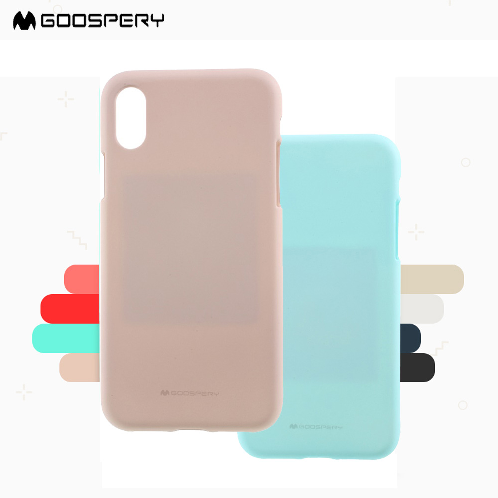 MERCURY New For iPhone X 10 Phone Case Goospery GoosPery Soft Feeling TPU Back Case for iPhoneX Ten Matte Capa Mint